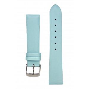 Сатиновый голубой ремешок для часов. Willson