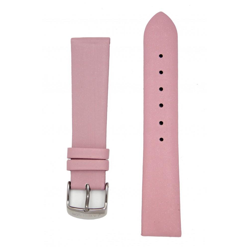 Сатиновый розовый ремешок для часов. Willson