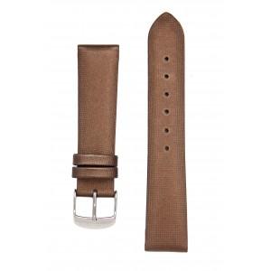 Сатиновый коричневый ремешок для часов. Willson