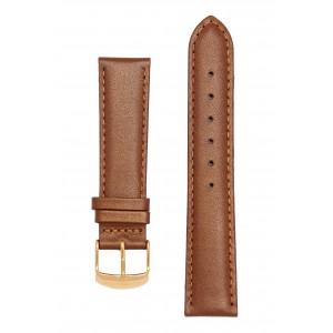 Светло-коричневый блестящий ремешок для часов. Willson.