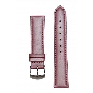 Розовый блестящий ремешок для часов. Willson.